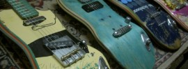 Skateboards Gitarren